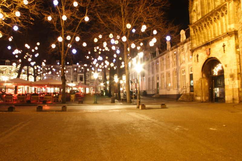 Maastricht bij avond